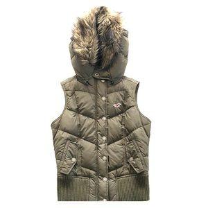 Hollister Vest with Fur Hood